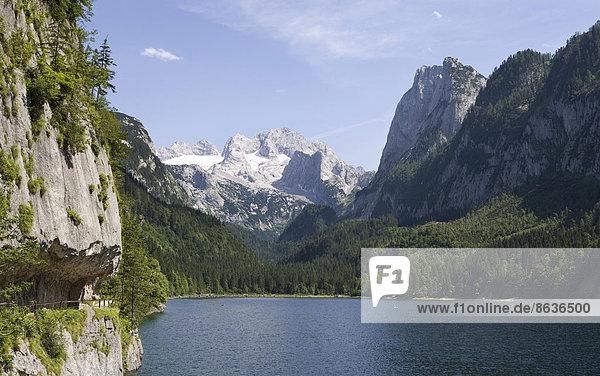 Bergsee  Dachstein  Gosaukamm  Gosausee  Salzkammergut  Österreich