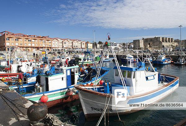Hafen Andalusien Costa de la Luz Spanien Tarifa
