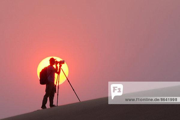 Tischset  Silhouette  Wüste  Fotograf  Namibia  Namib  Sonne