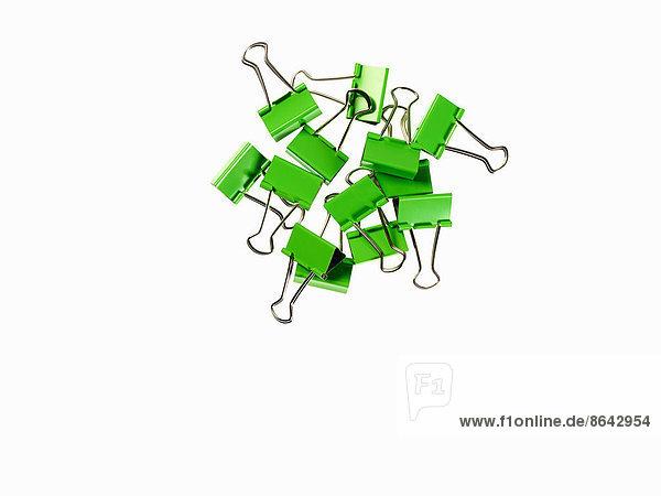 grün  weiß  Hintergrund  Büro  Gegenstand  Büroklammer