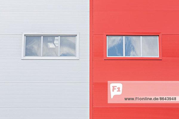 Nahaufnahme der Fenster