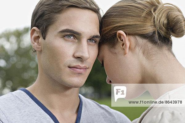 Nahaufnahme eines jungen Paares
