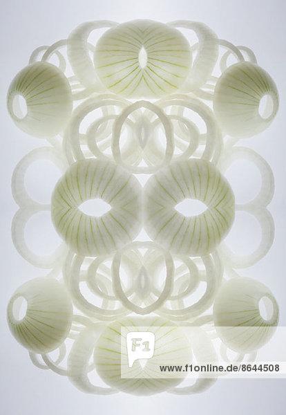 Digitaler Verbund von Spiegelbildern einer Anordnung von Zwiebelscheiben