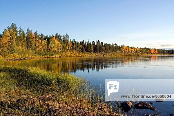 Finnland  Lappland  Nordeuropa