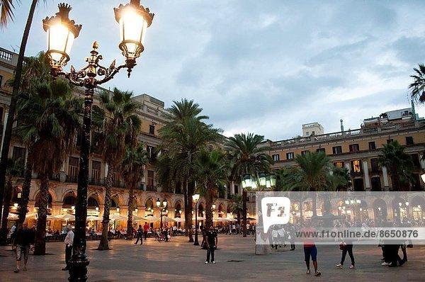 Barcelona  Katalonien  Spanien