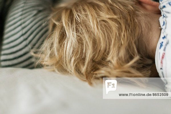 schlafen ,Baby ,blond ,Haar