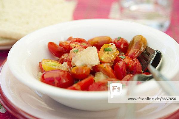 Salat  Kirsche  Tomate  Zitrusfrucht  Zitrone