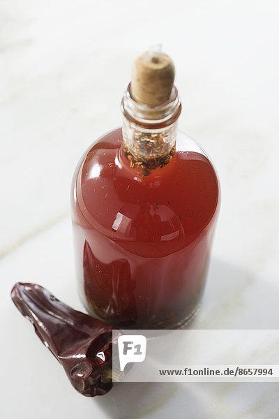 Spicy vinegar