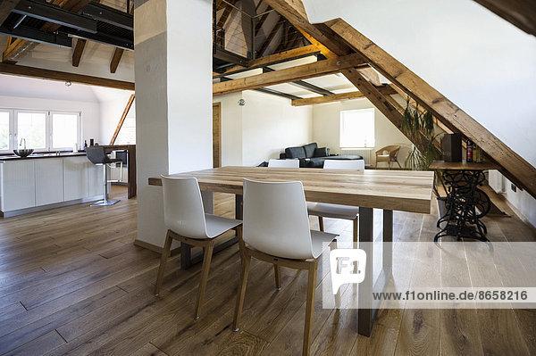 Küche Loft Zimmer modern