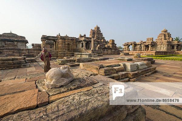 Virupaksha Temple  UNESCO World Heritage Site  Hampi  Karnataka  India