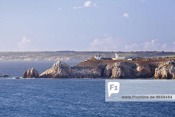 Pointe de Toulinguet  Halbinsel von Crozon  Département Finistère  Bretagne  Frankreich