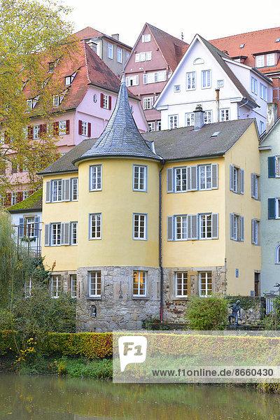 Stadt Geschichte Ansicht Baden-Württemberg Deutschland Tübingen
