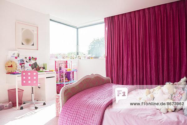 Rosa Mädchenzimmer