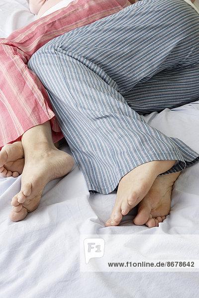 Lesben Sleepy Fuß Anbetung