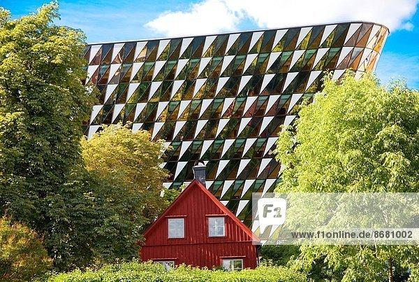 Karolinska Solna hospital construction projects  Stockholm Sweden.