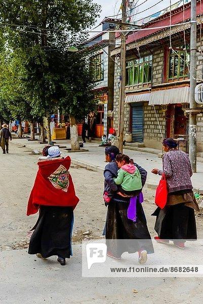 Palcho Monastery (a.k.a. Pelkor Chode Monastery)  Gyangze  Tibet (Xizang)  China.