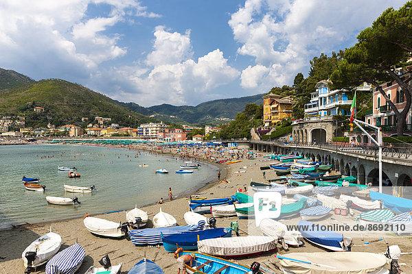 Italy  Cinque Terre  Lido of Levanto