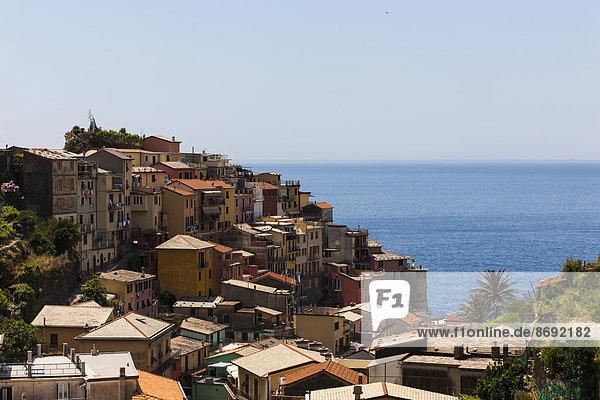 Italy  Liguria  Cinque Terre  Manarola