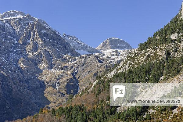 Spanien  Nationalpark Ordesa y Monte Perdido  Monte Perdido-Massiv