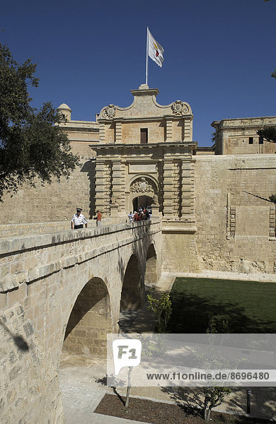 City Gate of Mdina  Malta