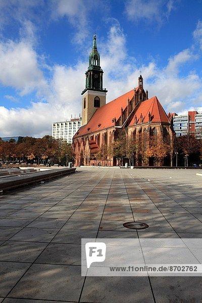 St. Mary's Church in Alexanderplatz  Berlin.