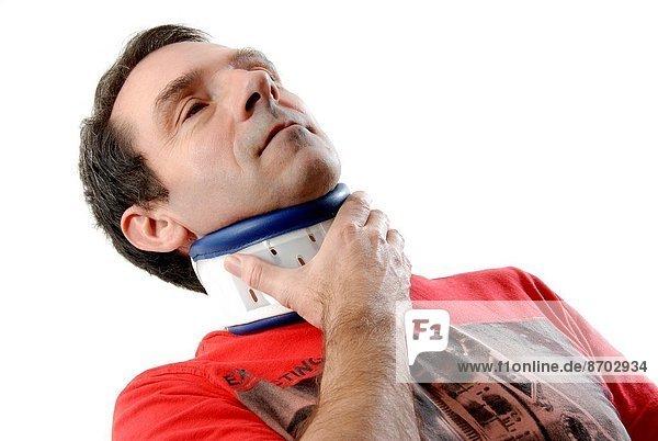 Mann  Schmerz  Unterstützung  Versorgung  Hilfe  Verletzung  Kleidung
