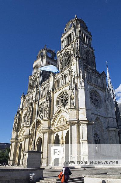 Kathedrale von Orléans  Orléans  Département Loiret  Region Centre  Frankreich
