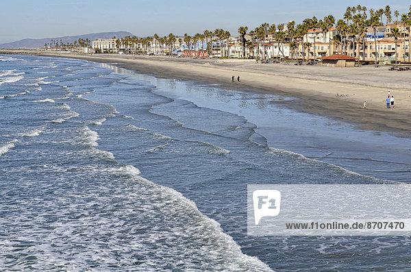 Vereinigte Staaten von Amerika USA Geschichte Kai Ansicht Küste Kalifornien