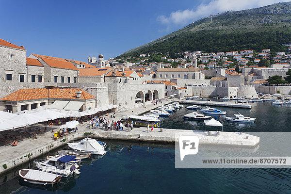 Hafen Geschichte Kroatien Dalmatien Dubrovnik alt