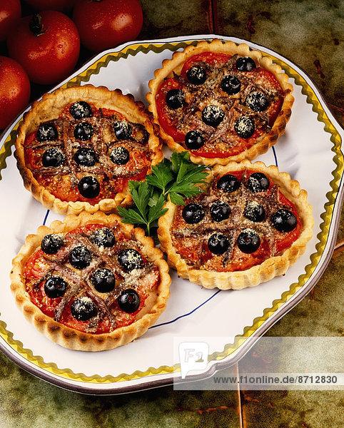 4  Lifestyle  Pizza  Gebäck  verzieren  Verzierung  Garnierung  garnieren