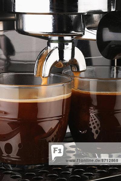 Tasse  Frische  Glas  Produktion  Maschine  Kaffee  Espresso