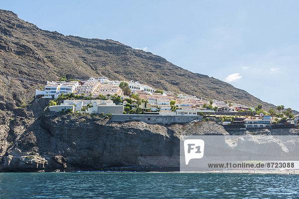 Hotelanlage Los Gigantes  Puerto de Santiago  Teneriffa  Kanarische Inseln  Spanien