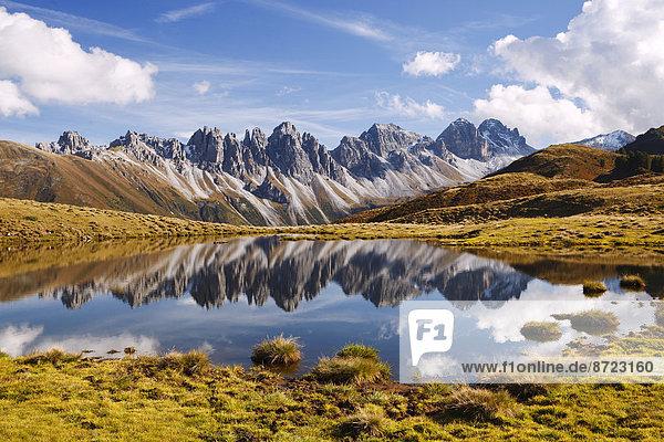 Kalkkögel in den Stubaier Alpen  Tirol  Österreich