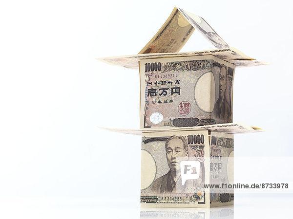 Geldschein japanisch Yen