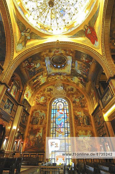 Koptische Kirche Alle Heiligen im Himmel  El Samaaeyeen  Scharm El-Scheich  Sinai-Halbinsel  Ägypten