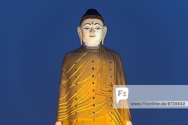 Lay Kyun Sakkya  standing Buddha statue  Maha Bodhi Ta Htaung monastery  Monywa  Sagaing Division  Myanmar