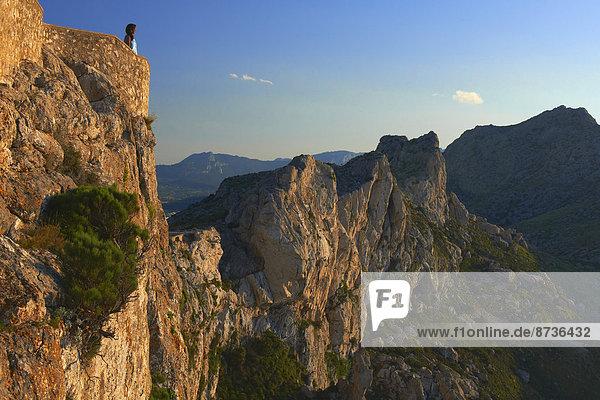 Aussichtspunkt  Cap de Formentor  Mallorca  Balearen  Spanien