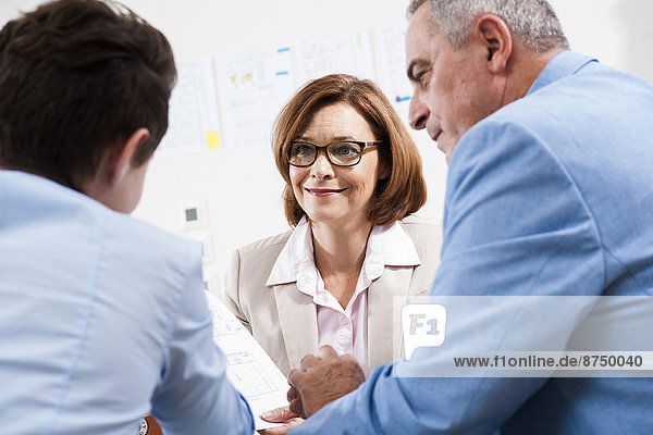 Business People in Office  Mannheim  Baden-Wurttemberg  Germany