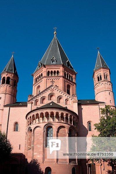 Mainz Cathedral  Mainz Germany.