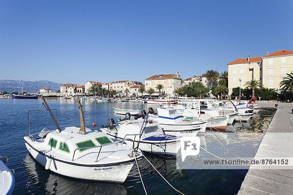 Hafen Kroatien Dalmatien