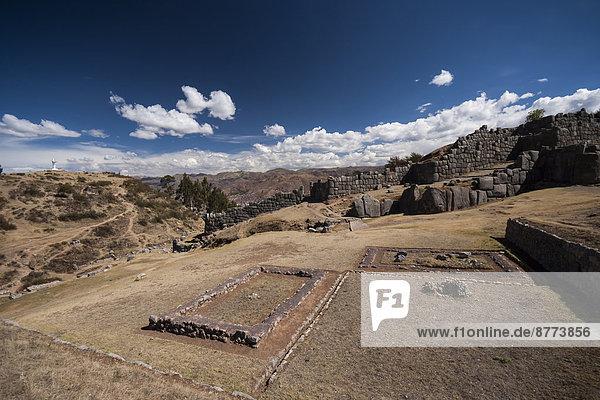 Peru  Cusco  Inka-Festung Saksaywaman