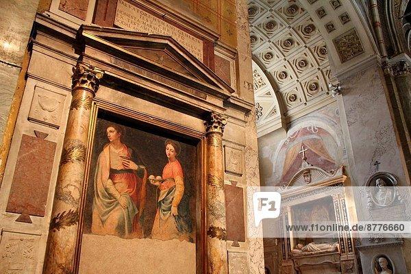 Rom  Hauptstadt  Innenaufnahme  Basilika  Italien