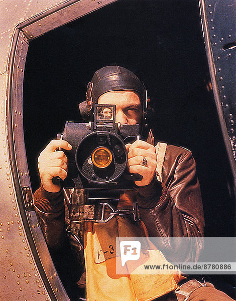 WW II  historical  war  world war  second world war  operation Overlord  Overlord  invasion  allies  Allied Forces  photographer  camera  aerial  June  1944  bomber B-17  United Kingdom  Great Britain