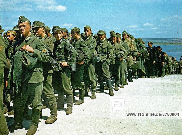 Großbritannien  Geschichte  Soldat  Krieg  eindringen  Gefangenschaft  deutsch  Hampshire  Juni  März  Zweiter Weltkrieg  II.