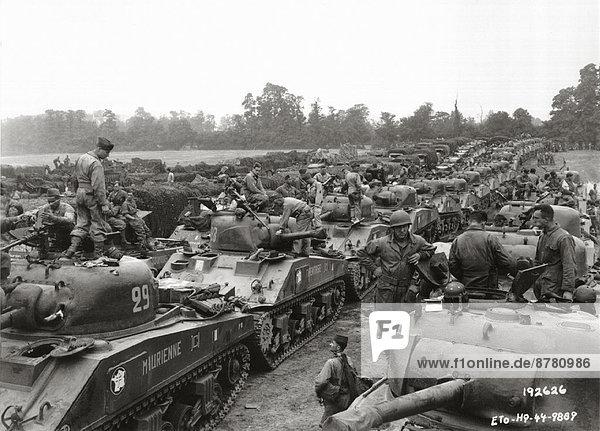 Frankreich  Europa  Teamwork  Geschichte  Krieg  eindringen  August  Normandie  Zweiter Weltkrieg  II.