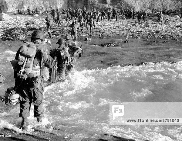 Frankreich  Europa  Teamwork  Geschichte  Soldat  Krieg  eindringen  Juni  Militär  Normandie  Zweiter Weltkrieg  II.