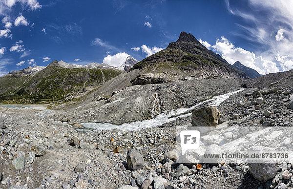 Wasser  Europa  Berg  Sommer  Landschaft  Hügel  Gletscher  Schweiz