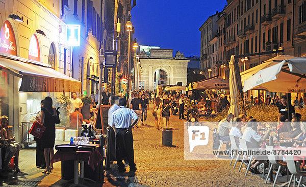 Italien  Lombardei  Mailand  Corso Como
