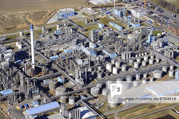 Luftbild  Sasol Werk  ChemCoast Park  Brunsbüttel  Schleswig-Holstein  Deutschland