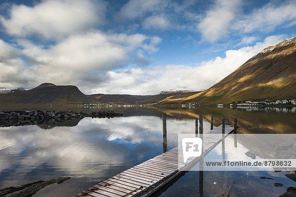 Isafjordur  West Fjords  Iceland  Polar Regions